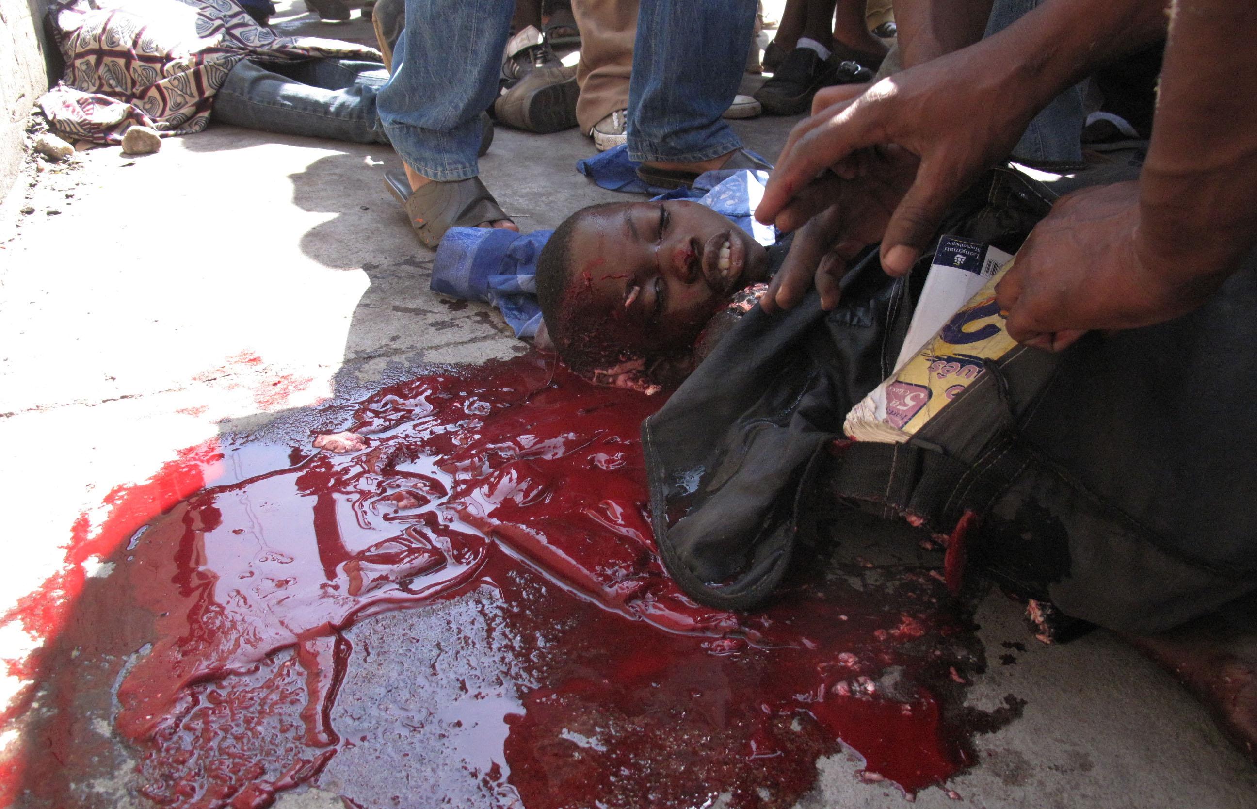 Жестокие картинки убийств
